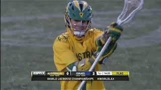 Lacrosse World Games 2014 Australia vs Israel (Full Game)