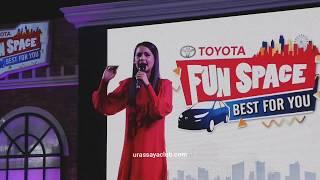 ญาญ่าร่วมงาน Toyota Fun Space Best For You : Part1 [21-7-2019]