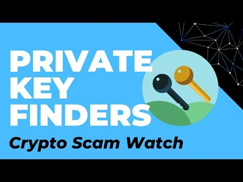 Private Key Finders, Private Key Generators, Deriving Private Key From Public Key.
