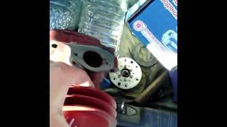 Замена помпы газ 3309 дизель
