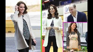 Kate Middleton & William's Body Language At Last Public Outing and the signs of the twins