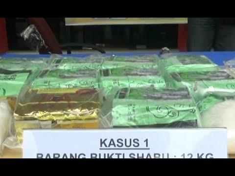 Polisi Gagalkan Peredaran 12 Kg Sabu Asal Malaysia Mp3
