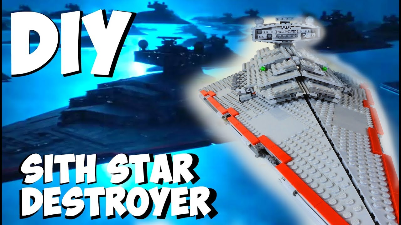 Diy Sith Star Destroyer Custom Lego The Rise Of Skywalker Youtube