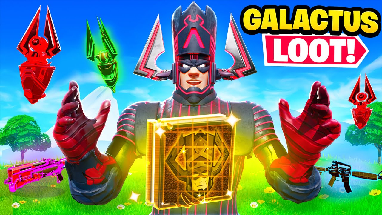 The BOSS GALACTUS Loot Only Challenge in Fortnite