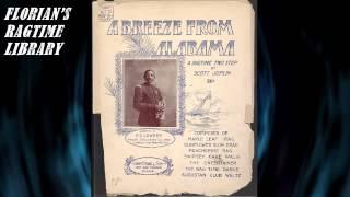A Breeze From Alabama by Scott Joplin (1902) - Ragtime Piano