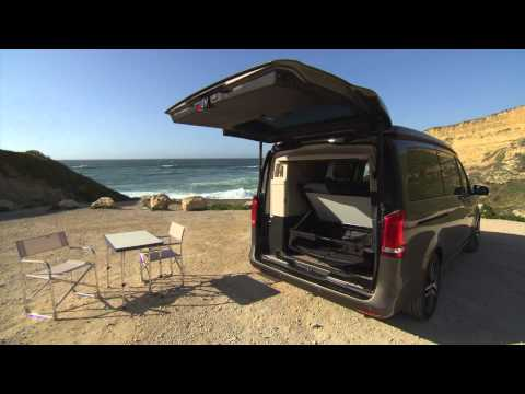 mercedes v class marco polo 250 blue tec youtube. Black Bedroom Furniture Sets. Home Design Ideas