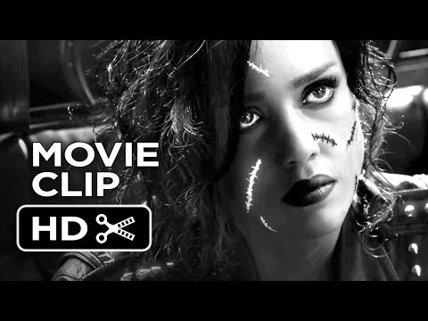 Sin City: A Dame To Kill For Official Movie Clip #1 - Crazy (2014) - Jessica Alba Movie HD streaming vf