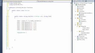 Ders 7 AspNet MVC3 Seo Link Fonksiyonu Yazımı Ve Kullanımı
