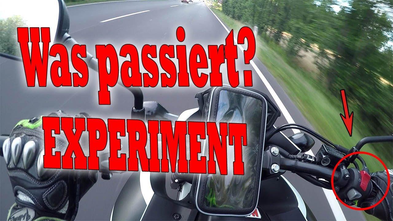 Den NOT-AUS-SCHALTER während der Fahrt drücken! Was passiert? - YouTube