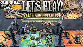 #tbt Let's Play! - Warhammer Quest  1995  By Games Workshop