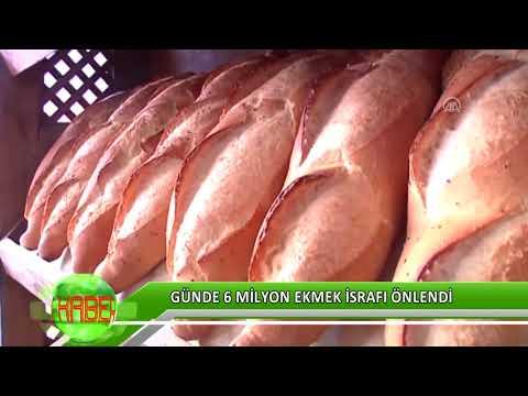 Günde 6 milyon ekmek israfı önlendi