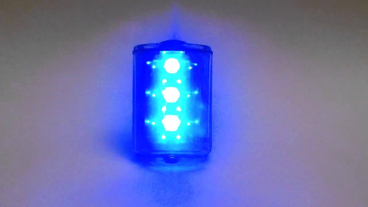 Lite Tracker 2013 M Personal Safety Light  Blue LED