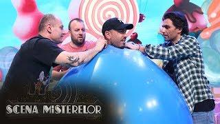 Alex Velea si Antonia au intrat intr-un balon urias, la Scena Misterelor!