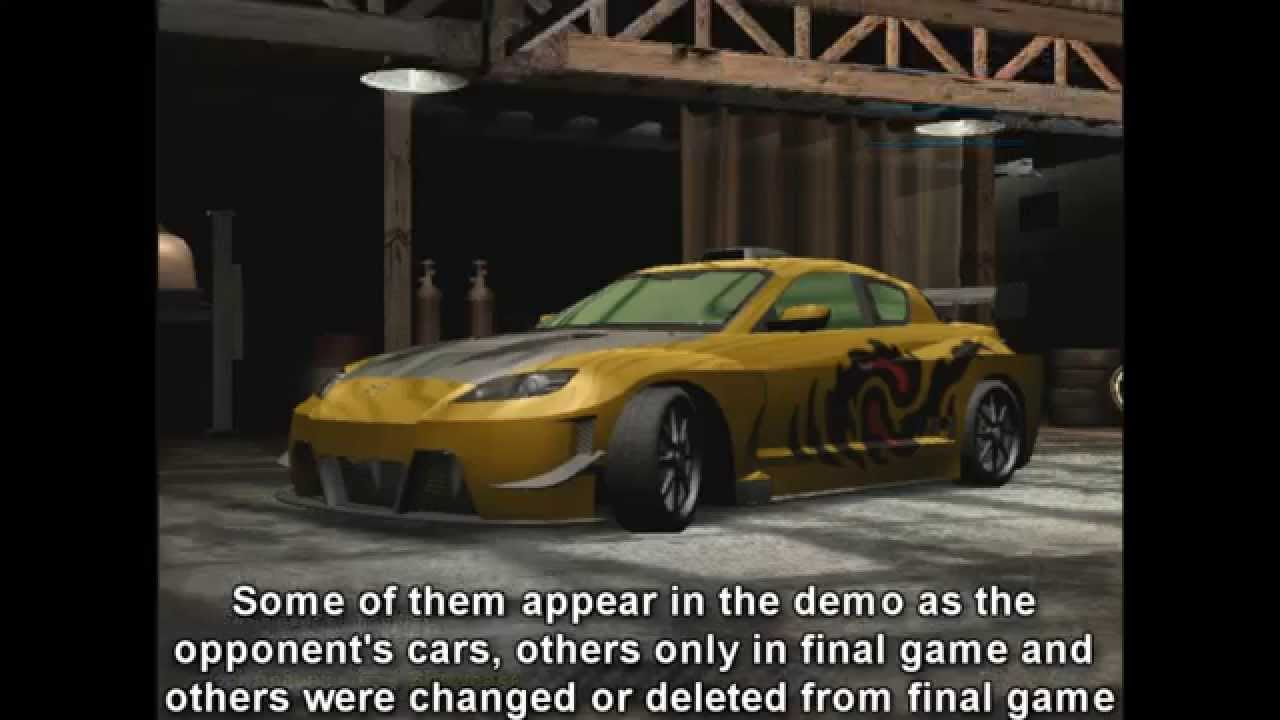 Nfs Most Wanted Ps2 Demo Hidden Preset Cars Part 1 2 Youtube