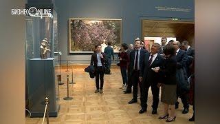 Рустам Минниханов побывал в Третьяковской галерее