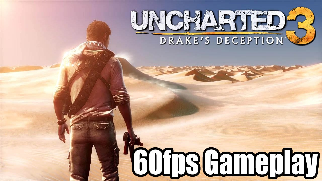 Uncharted 3 60fps Gameplay Ps4 Remastered 1080p True Hd