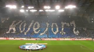 """Kartoniada """"Kolejorz"""" Lech Poznań - Legia Warszawa 0:2 (19.03.2016)"""