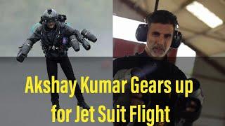 Akshay Kumar in Jet Suit | Gravity Industry