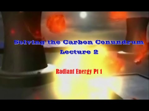 Solving the Carbon Conundrum  Lecture 2