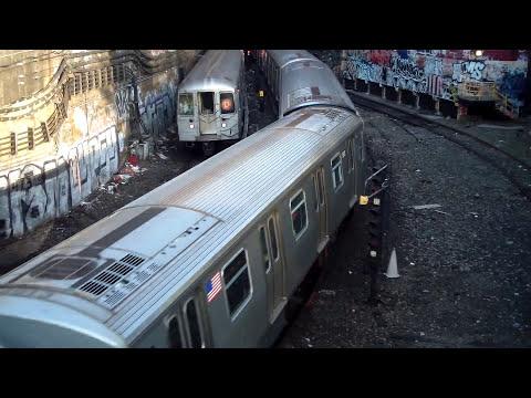 BMT West End Line: R160B Siemens N Train/R68 D Train@4th Avenue Portal