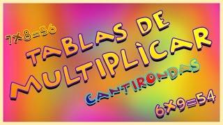 Tablas de Multiplicar - Canti Rondas | Canciones Infantiles thumbnail