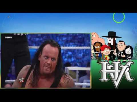 The Undertaker vs Triple H l WrestleMania 27 l Combates WWE