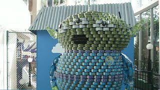 Canstruction Orlando celebrates 25 years in fight against hunger