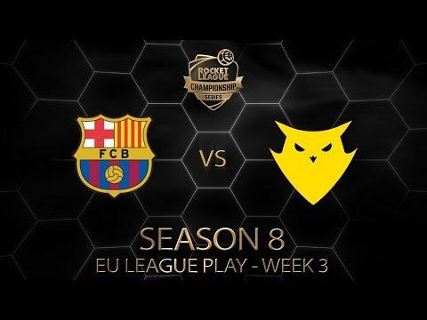RLCS League Play Week 3 - FC Barcelona vs Dignitas