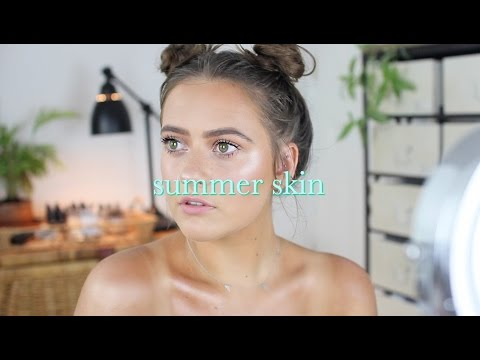 Glowing summer skin routine  EmmasRectangle