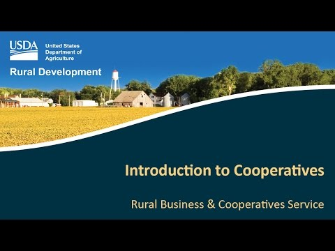 Introduction to Cooperatives