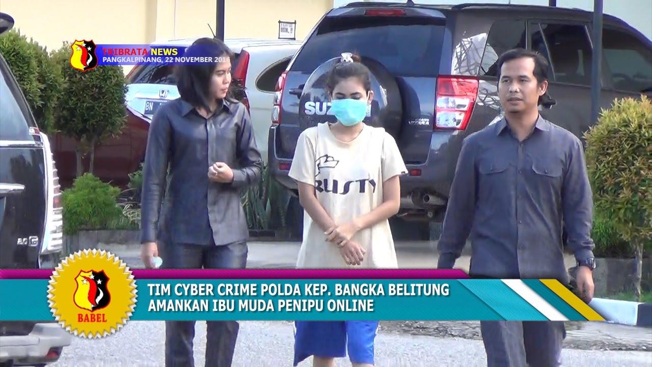 Cyber Crime Polda Bangka Belitung Tangkap Ibu Muda Penipu Online