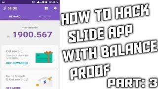 How To Hack Slide App Working latest method 2017 without  root