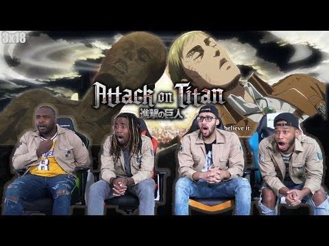 😢We Couldnt Choose! Attack on Titan 3x18 REACTION/REVIEW