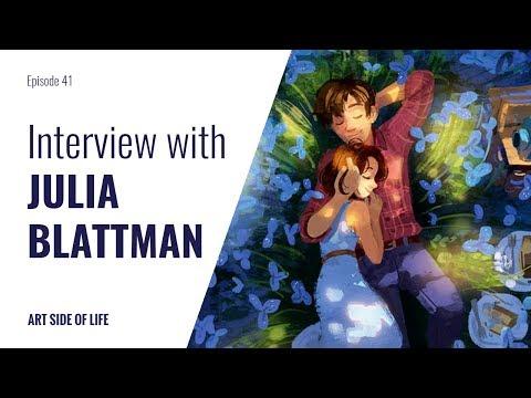 HOW TO PREPARE YOUR PORTFOLIO FOR DISNEY -WITH JULIA BLATTMAN (EP.41)