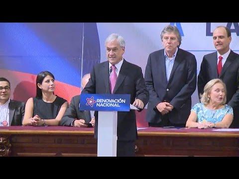 Renovación Nacional proclama a Sebastián Piñera como candidato presidencial