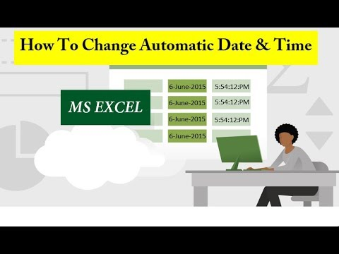 How To Set Automatic Date And Time Change Formula In Excel Sheet