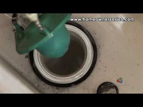 Toilet Repairs Flapper Valve Replacement Youtube