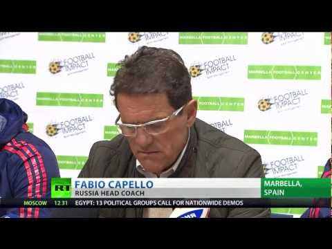 Capello unbeaten as Russia defeats Iceland 2-0 in friendly