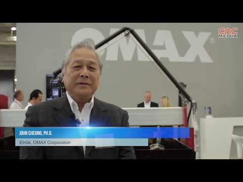 [ENG] OMAX at the EMO Hannover 2013 trade fair