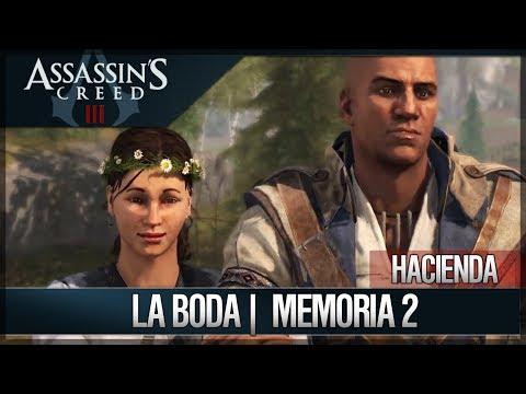Assassin's Creed 3 - Walkthrough Español - Vida diaria en la Hacienda - La boda [2] [100%]