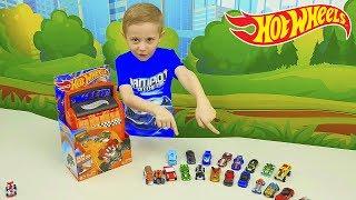 Машинки ХОТ ВИЛС для детей Кейсы Гаражи Паркинги Видео для детей Hot Wheels Cars and Tracks Toys for