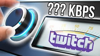 Скачать How To Choose A Bitrate For Twitch Streaming