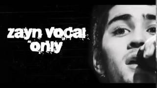 Zayn Malik voice only