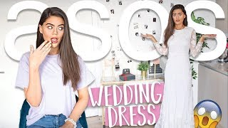 SUBSCRIBERS DO MY ASOS ORDER!! THEY ORDERED ME A WEDDING DRESS?!!!