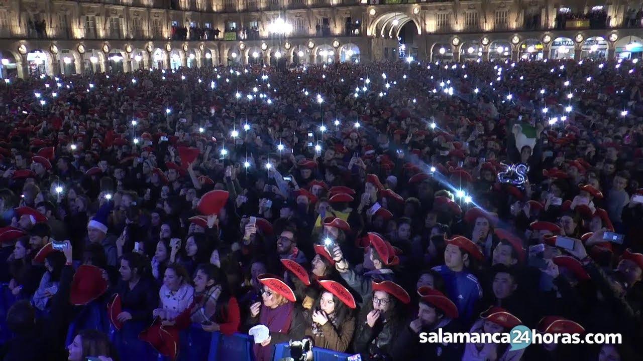 La historia de la Nochevieja Universitaria de Salamanca
