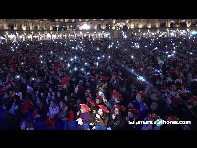 Nochevieja Universitaria 2017 en Salamanca