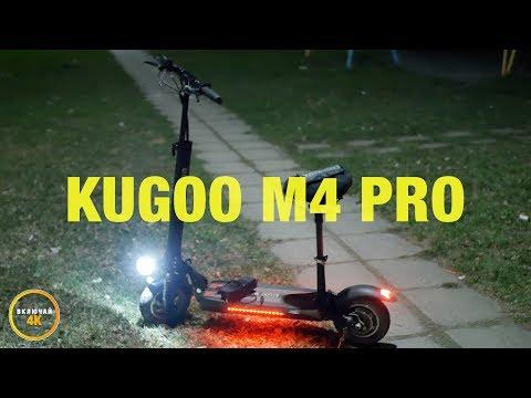 Оригинальный электросамокат Kugoo M4 PRO - первые впечатления и распаковка