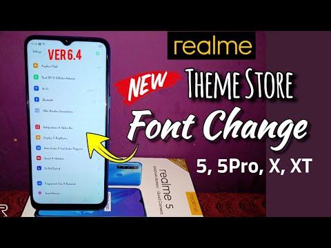 Realme 5 Font Change | Font Change Theme Store For Realme 5, Realme 5 Pro, Realme X & Realme XT |