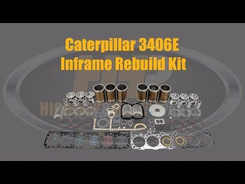 1495566 Caterpillar 3406E Inframe Diesel Engine Rebuild