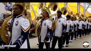Marching into Labor Day Classic | PVAMU Marching Storm | 2019